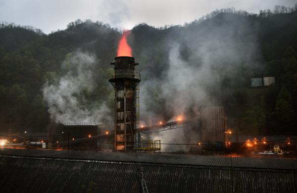 "Metallurgical coal mined in this region of Appalachia is brought here to SunCoke Energy Jewell Thompson to become ""coking coal,"" which is then used to make steel."