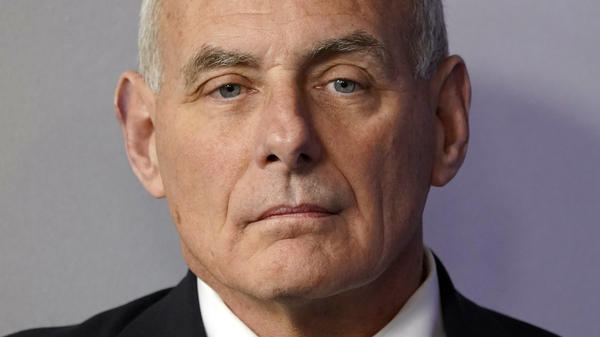 """White House Chief of Staff John Kelly is denying that he called President Trump an """"idiot."""" He called reports to that effect, """"B.S."""""""