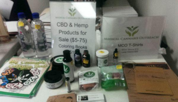 Medical cannabis related products are sold at a medical cannabis outreach clinic in Shelbyville, Ilinois, on April 29, 2017