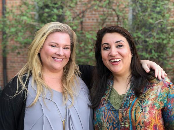 Dr. Julie Braciszewski (left) and Dr. Farha Abbasi (right)
