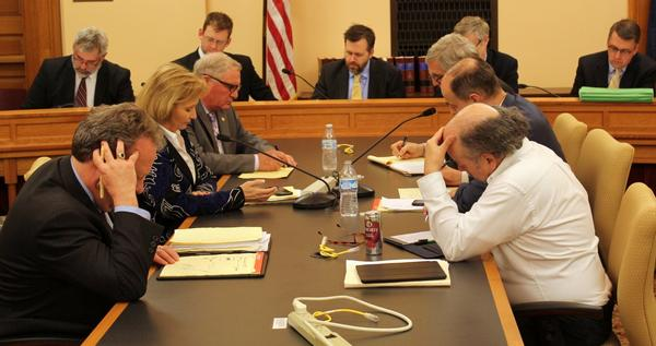 House and Senate negotiators workshopped a tax break package soon after the Legislature approved a state spending plan on the eve of adjournment.