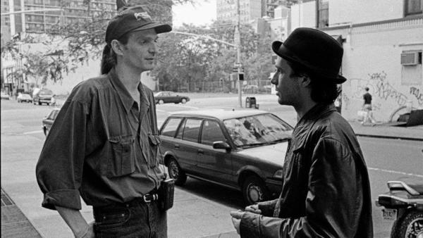 Dave Lory (left) with Jeff Buckley (right)