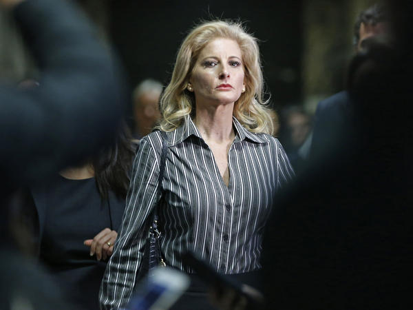 Summer Zervos, a onetime contestant on Donald Trump's show <em>The Apprentice</em>, is suing him for defamation, saying he wrongfully accused her of being a liar when she and several other women came forward with sexual misconduct allegations.