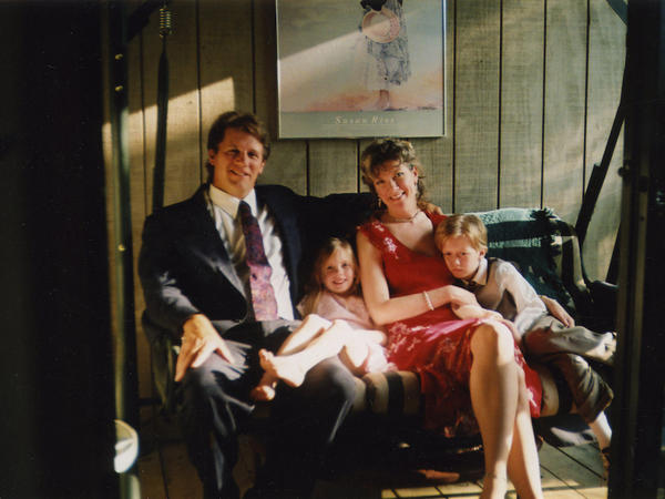 Bill, Amy, Edie and William (from left) are one of the families featured in the documentary <em>A Dangerous Son</em>.