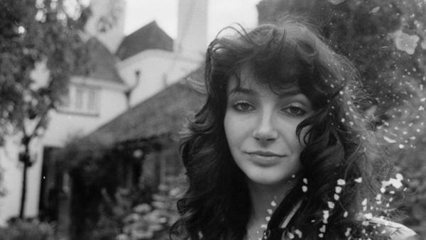 Kate Bush at her family's home in London in 1978.