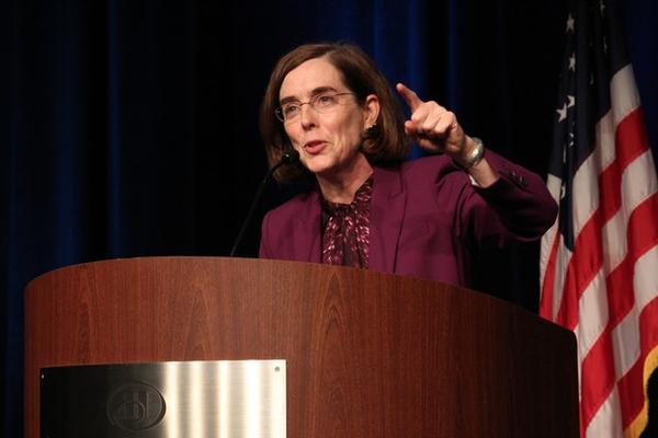 <p>Oregon Gov. Kate Brown</p>