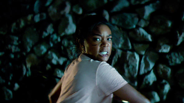 Gabrielle Union shows off her killer parenting skills in the domestic thriller <em>Breaking In. </em>