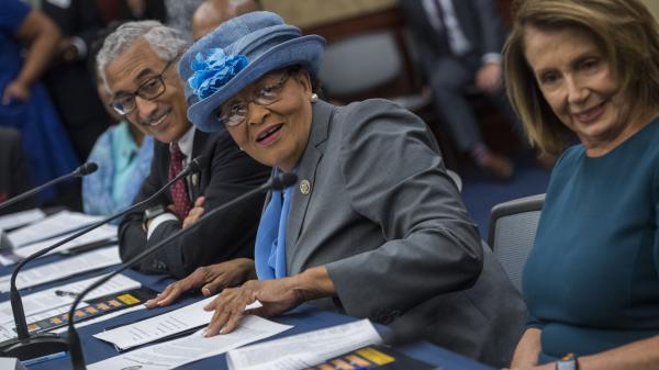 North Carolina Democratic Rep. Alma Adams is one of the 27 women who come away from Tuesday's primaries with a spot on the general election ballot.