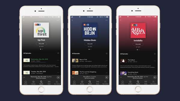 With the addition of NPR's colossal catalogue, Spotify's platform is expected to be an even bigger magnet for podcast junkies across the globe.