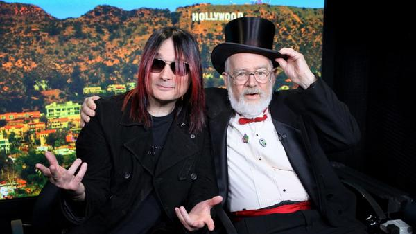John Cafiero (left) and Dr. Demento come together on the new album <em>Dr. Demento Covered in Punk.</em>
