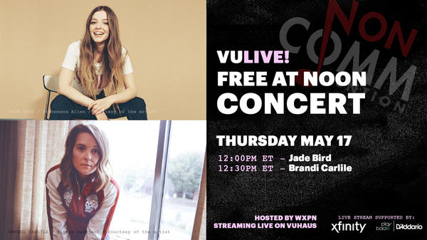 Jade Bird and Brandi Carlile perform at NON-COMM 2018
