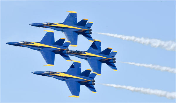 The U.S. Navy Blue Angels