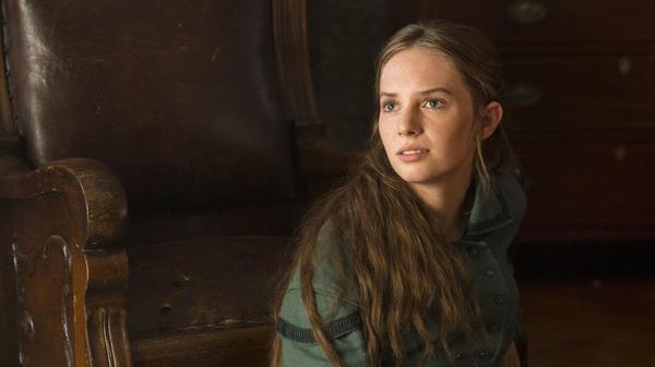 Maya Hawke as Jo March.