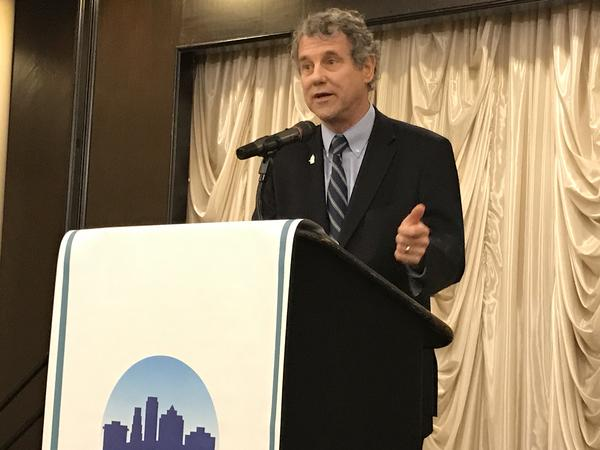 Sen. Sherrod Brown told the Akron Press Club that it's become increasingly clear that failure to save the multi-employer pensions could have larger repercussions.