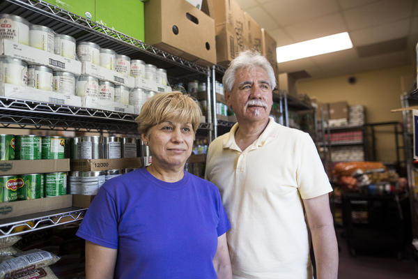 Olga and Daniel Robles rely on SNAP to buy food every month.