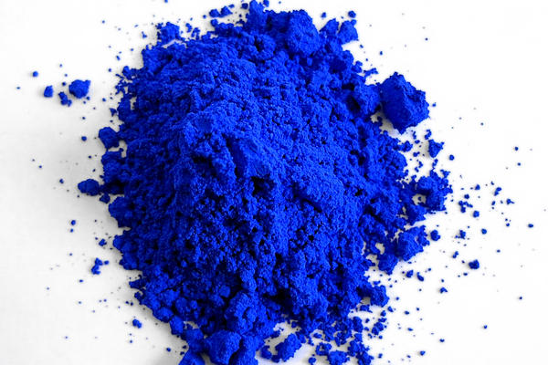 YInMn Blue, the first new blue to be discovered in over 200 years. (Courtesy Oregon State University)
