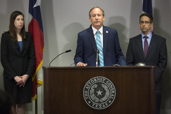 Texas Attorney General Ken Paxton announced that his office has filed a lawsuit against Purdue Pharma, the maker of OxyContin and other pain medicines, for what he said are misleading marketing tactics.