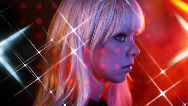 "A still from Chromatics' ""Black Walls"" video."