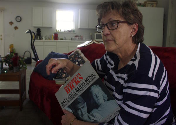Carmen Hicks McCord, of Bon Aqua, carries on the folk ballad singing tradition of her family, which helped preserve numerous rare songs. In some cases, the Hicks family held words and tunes that had otherwise disappeared.