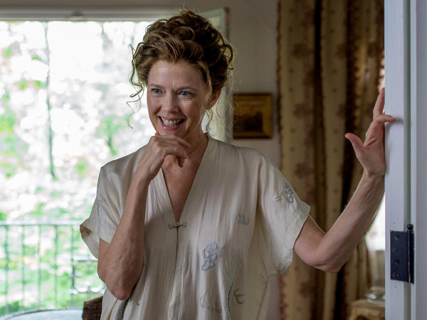 Annette Bening plays Irina Arkadina, an aging actress, in a screen adaptation of Anton Chekhov's play <em>The Seagull. </em>
