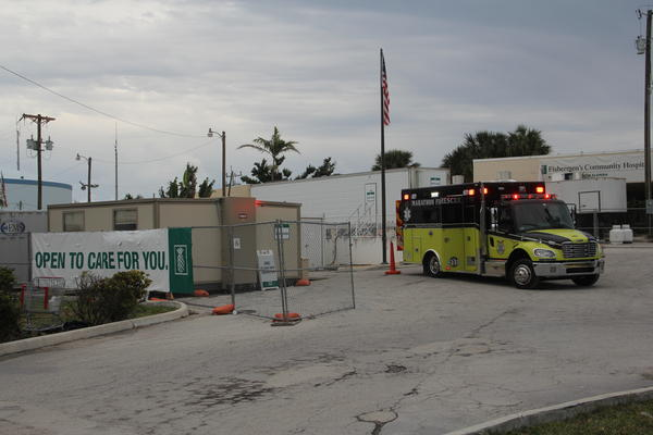 Fishermen's Community Hospital in Marathon was destroyed by Hurricane Irma. Baptist Health has been operating a field hospital in the parking lot since the storm.