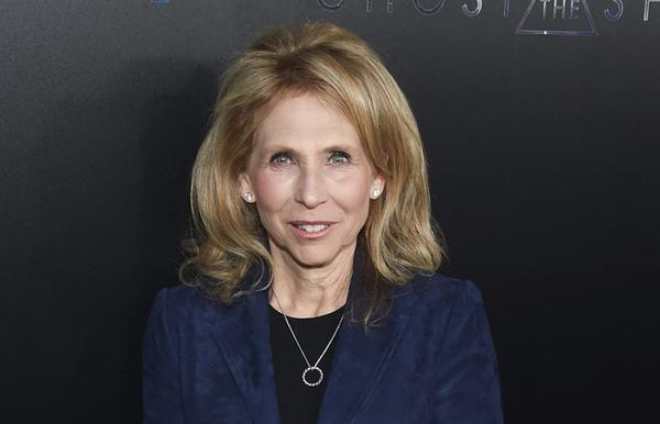"""In this March 29, 2017, file photo, Shari Redstone attends the premiere of """"Ghost in the Shell"""" at AMC Loews Lincoln Square in New York. CBS is suing its controlling shareholder as part of its long-running attempt to avoid a combination with Viacom. (Evan Agostini/Invision/AP)"""