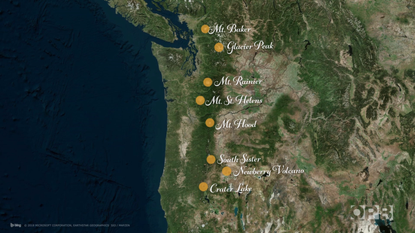 <p>These are the eight most dangerous volcanoes in Oregon and Washington, based on historical eruption records and proximity to people.</p>