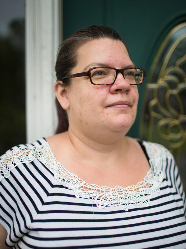 After two years in the VA's Program of Comprehensive Assistance for Family Caregivers, the Wilmots were dropped even though they say George's condition hasn't improved. Jenn Wilmot says the Charleston, S.C., VA encouraged her to reapply, and then rejected her.