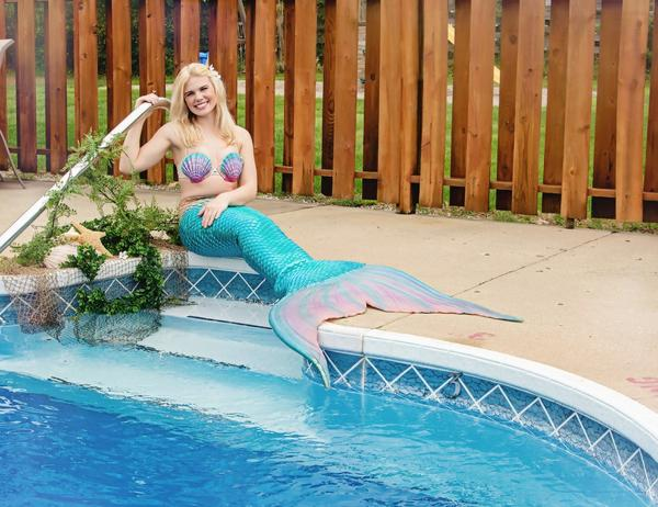 "Carrier said to expect a ""fun time with a serious message"" at the upcoming Mermaid MegaFest."