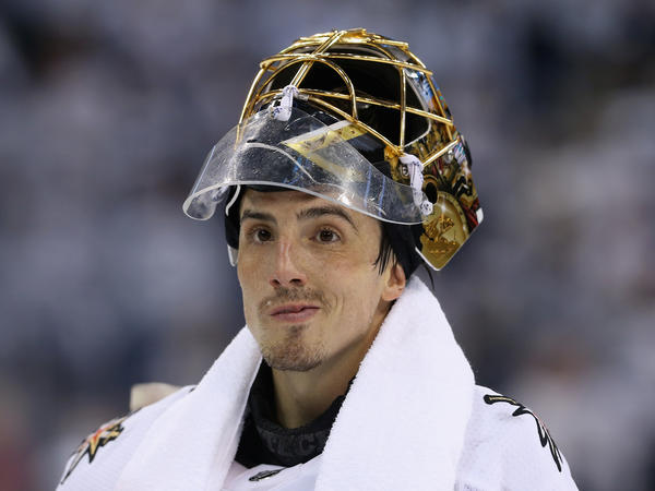 Marc-Andre Fleury, winner of multiple Stanley Cups with the Pittsburgh Penguins, had been cast off to Vegas when a younger player took his spot as starting goalie. Now in goal for the Golden Knights, he's four wins away from adding his name yet again to the Cup.
