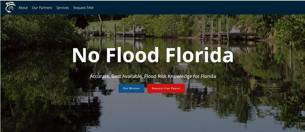 NoFloodFlorida.com, created by USF graduate students Ahmed Hamed and Taylor Lankford, offers floodplain analysis reports to home buyers and real estate agents in the Tampa Bay Area.
