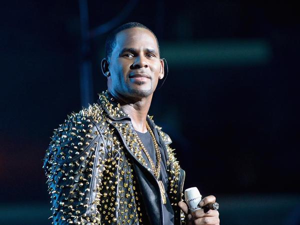 Singer R. Kelly, performing in Los Angeles in 2013.