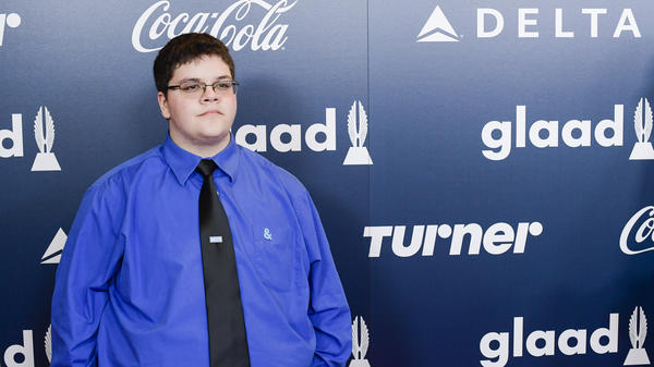 Gay-rights advocate Gavin Grimm attends the GLAAD Rising Stars Luncheon on May 5, 2017, in New York City. A federal judge has now ruled in favor of Grimm in his years-long legal battle with a Virginia school board for denying him access to the boys' bathroom. It's not clear whether the board will appeal.