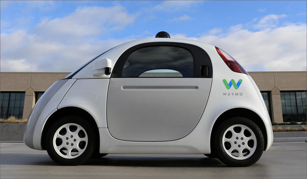 Google spin-off company Waymo is one of seven companies that has notified Washington's Department of Licensing that they plan to test self-driving vehicles.
