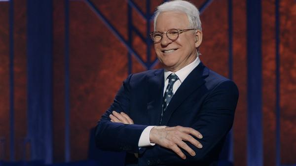 Steve Martin appears with Martin Short in the new Netflix special <em>Steve Martin and Martin Short: An Evening You Will Forget for the Rest of Your Life.</em>