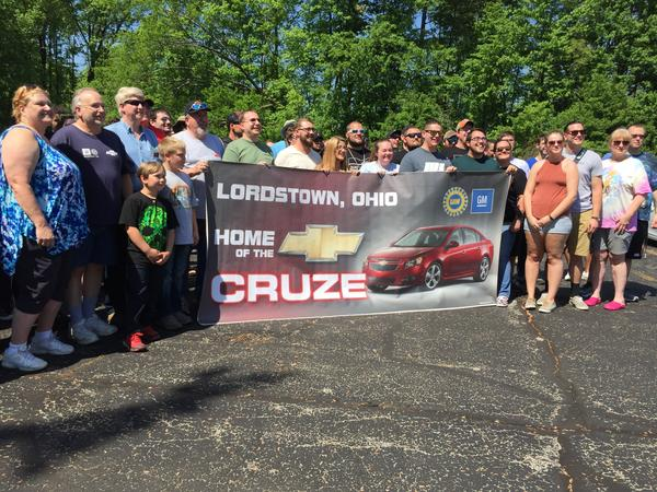 The members of the CruzeTalk online group consider themselves a family, and meet each year at the GM plant where their cars are built.