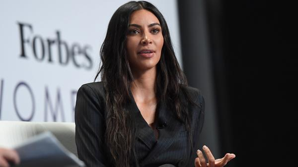Kim Kardashian West speaks at an event June 13, 2017, in New York City.