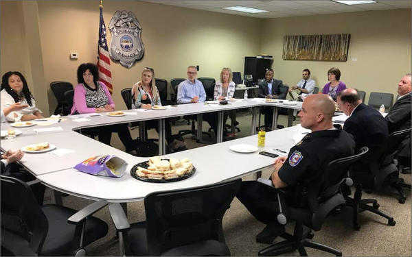 Rep. Cathy McMorris Rodgers discussed prison reform at a roundtable in Spokane Tuesday.