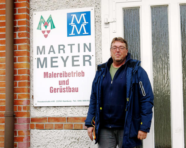 Stefan Meyer, who runs a house-painting business in Hamburg, says the ban will prevent his fleet of 10 diesel vans from using two key streets that lead to his downtown clients.