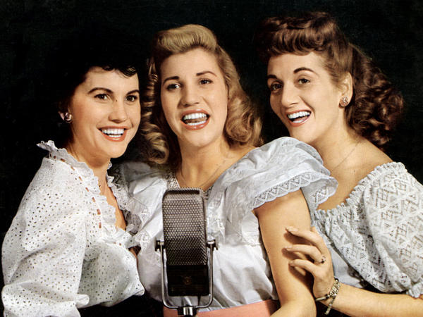 patty andrews leader of the andrews sisters dies npr illinois