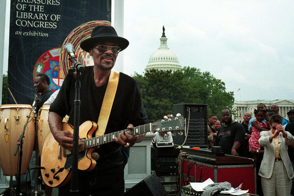 """""""I wanted my own sound,"""" Brown said. While the rest of the country was discovering hip-hop, Brown was helping to make go-go THE official sound of Washington, D.C."""