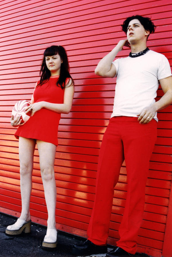 The White Stripes, when they were still in that little room.