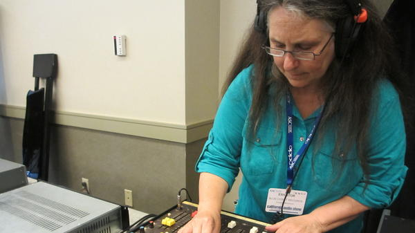 Cookie Marenco records musicians on a small remote recording console live at the California Audio Show in August. She'll demonstrate the quality of DSD to the audience by playing back her recording. How close will it sound to the live performance? Very close, according to people present.