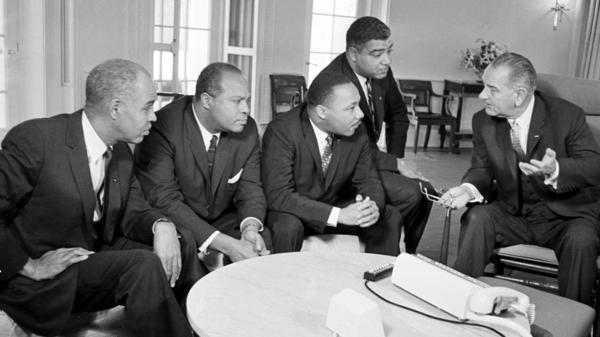LBJ Legacy Vietnam War Often Overshadows Civil Rights Feat KERA News