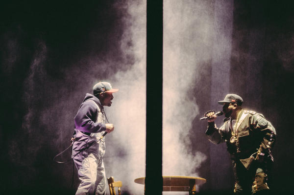 NPR Music's Frannie Kelley, who was at the show, says that the tension at Coachella came from the fact that this could be a farewell tour in addition to a reunion, and OutKast wants to go out on a good note.