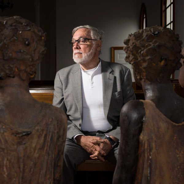 John Cummings, a New Orleans trial lawyer, has been working to create the slavery museum since the 1990s. He's spent millions on artifacts, research and restoration.