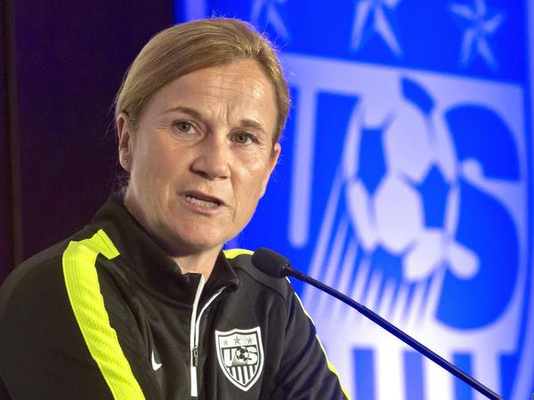 U.S. head coach Jill Ellis has been fending off complaints that the current team isn't as good as the 1999 lineup.