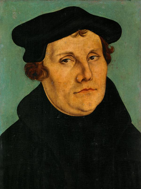 The man who started it all: German theologian and religious reformer Martin Luther (1483-1546)