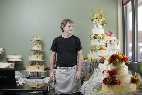 Jack Phillips, owner of Masterpiece Cakeshop in Lakewood, Colo., is one of the bakers who does not want to bake wedding cakes for same-sex couples, saying it violates his religious beliefs.