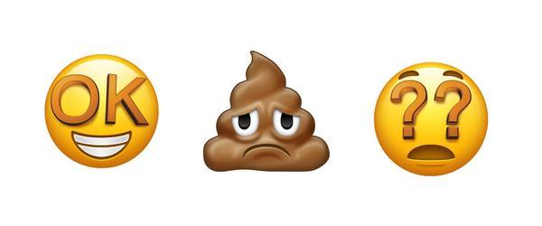 The three emojis that didn't make the cut.